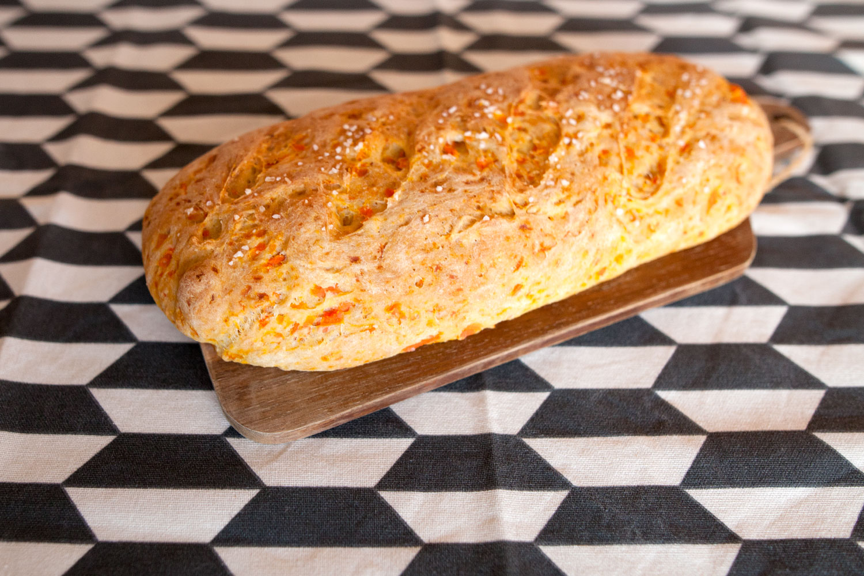 Receta de pan de zanahoria casero